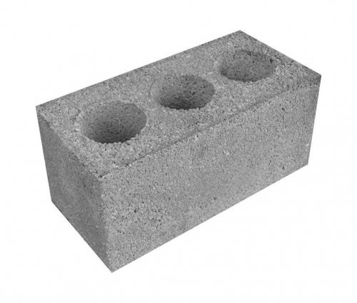 Блоки пустотелые 199х199х399