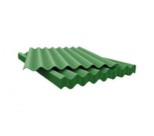 Шифер 1075*1013*5,2 мм зеленый (8-ми волновой)